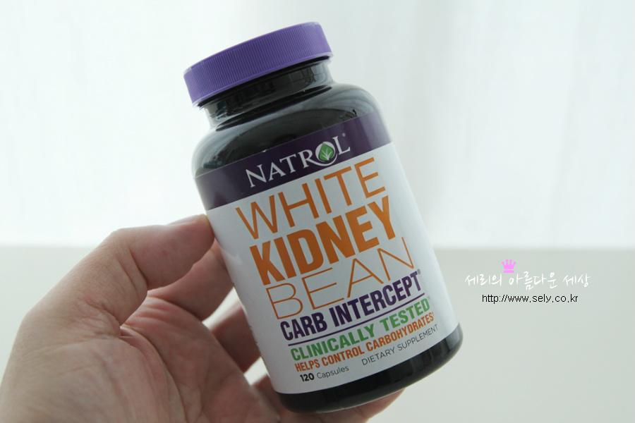 아이허브 다이어트 탄수화물 차단제 Natrol 제품 모습