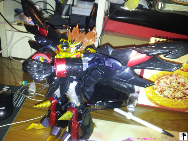 Max Alloy Genesic gaogaigar-Hell and Heaven-Side