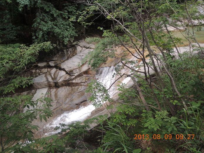 문경 용추계곡 용추폭포