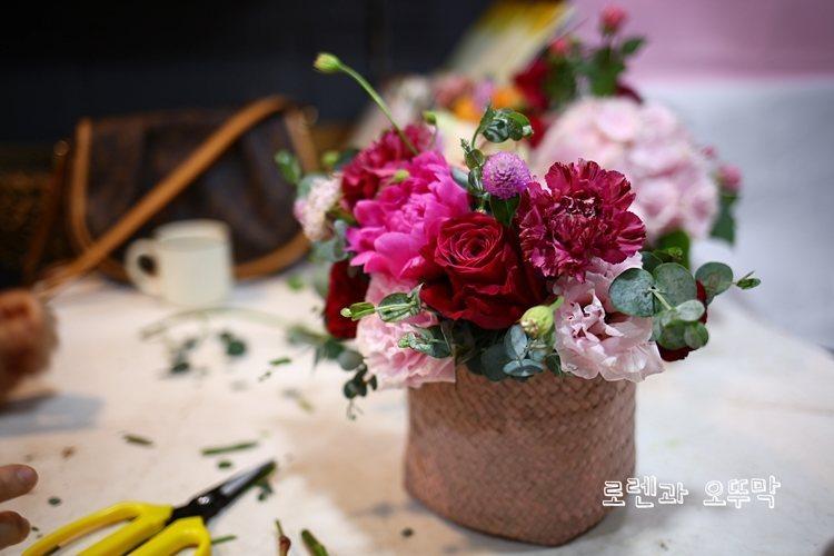 예쁜 어버이날 꽃바구니 2가지(창원 '플로앤플로르')16