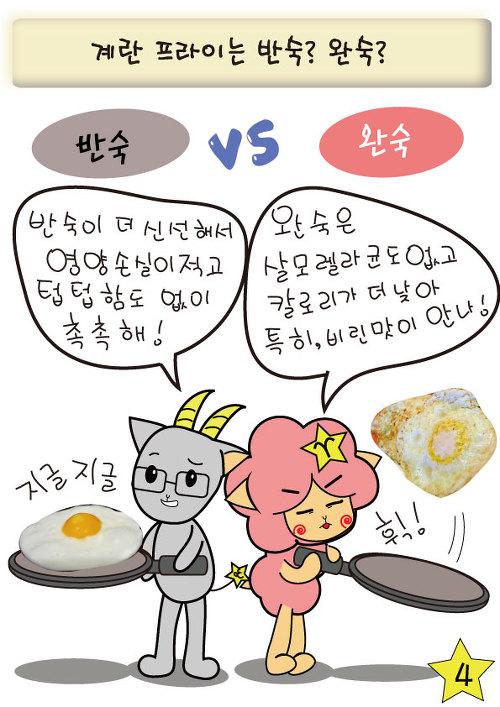 [웹툰] 신혼의 음식 논쟁, 알콩달콩 그림일기 No.3