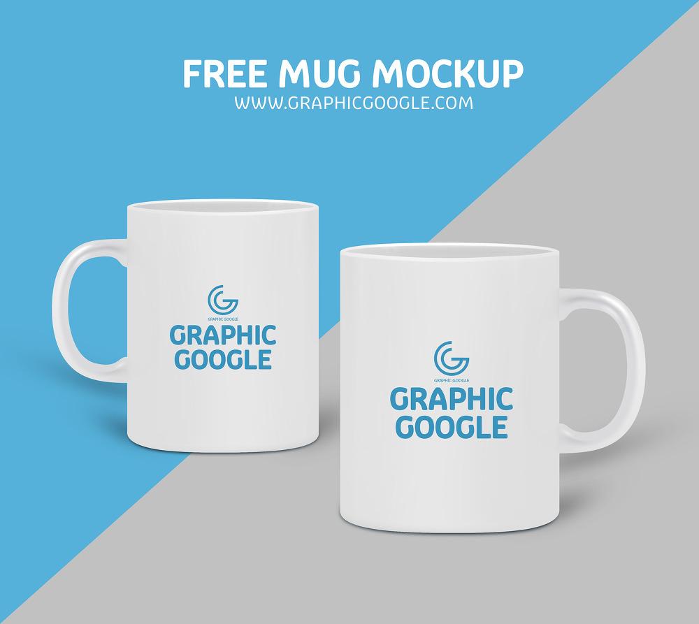 무료 머그컵 목업 PSD - Free Mug Mockup PSD