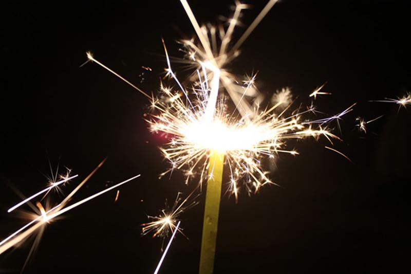 Festive night beautiful fireworks HD picture 03
