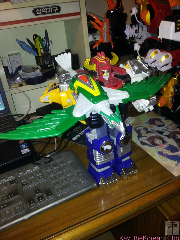 dx galaxy megazord-bowgun mode-normal color