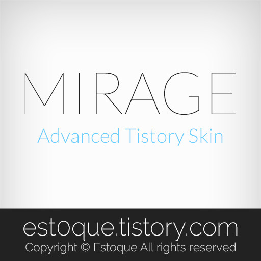 Mirage - Advanced tistory skin