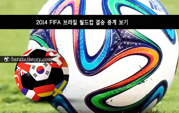 독일 아르헨티나 월드컵 결승전 중계