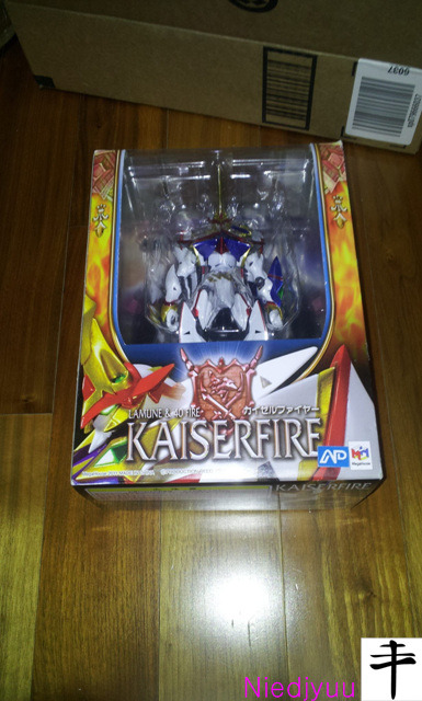 Megahouse Kaiser fire-outbox far