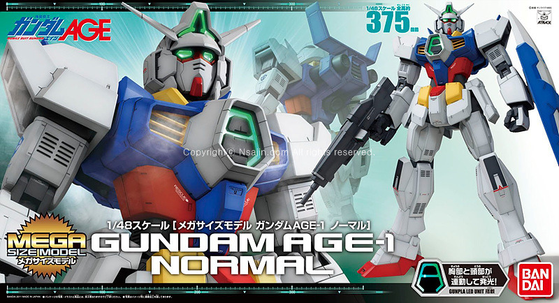 [AGM 1] Megasize Model Gundam Age-1 Normal