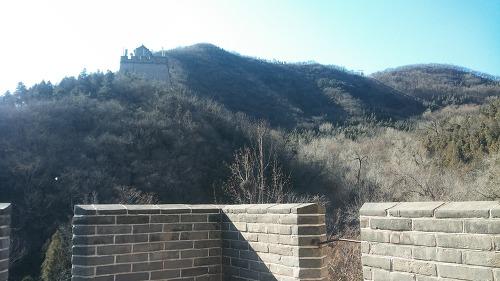 거용관 만리장성 居庸关长城 첫번째 석루의 경치
