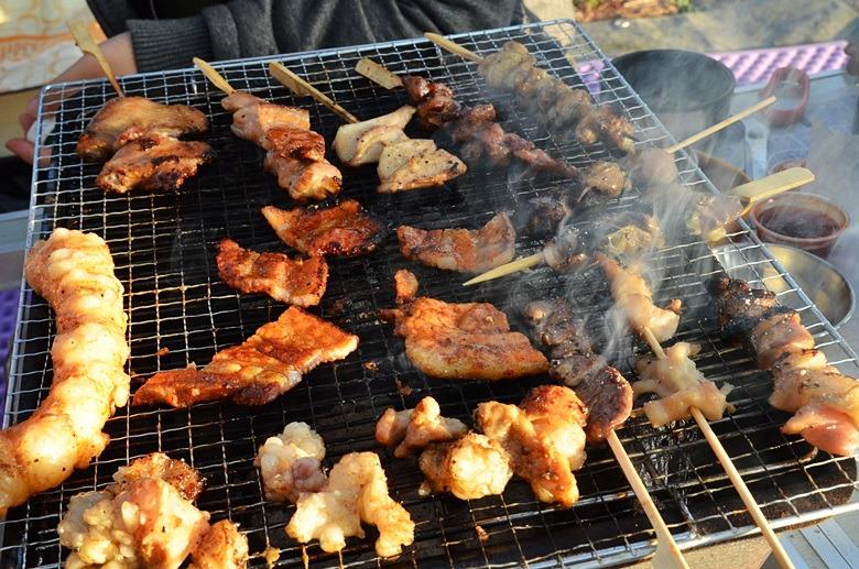 캠핑, 비어캔치킨, 캠핑요리맛있는음식, 돼지불고기, 국제아웃도어캠핑페스티벌, 가을캠핑요리추천, 가을캠핑요리, 하늘숲캠핑장