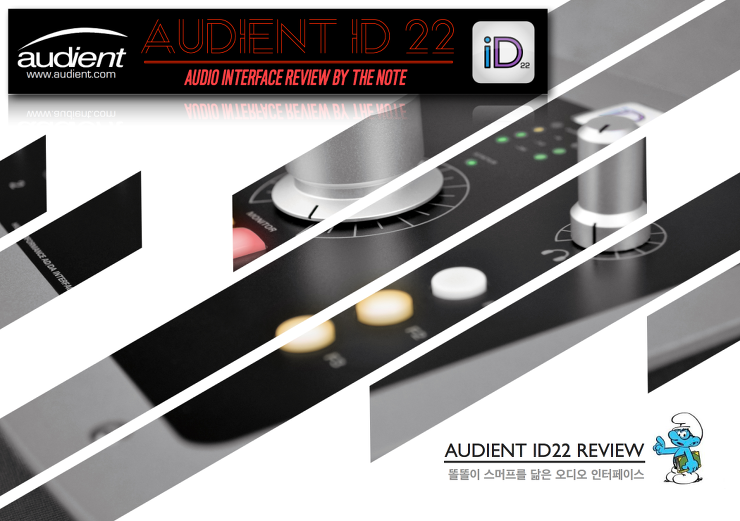 id22 audient id22 audio interface review the note music story. Black Bedroom Furniture Sets. Home Design Ideas