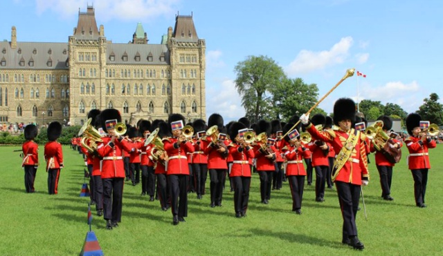 위병교대식 Parliametn of Canada the Changing of the Guard