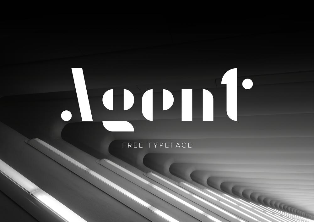 무료 영문 폰트 Agent - Free Font_Agent