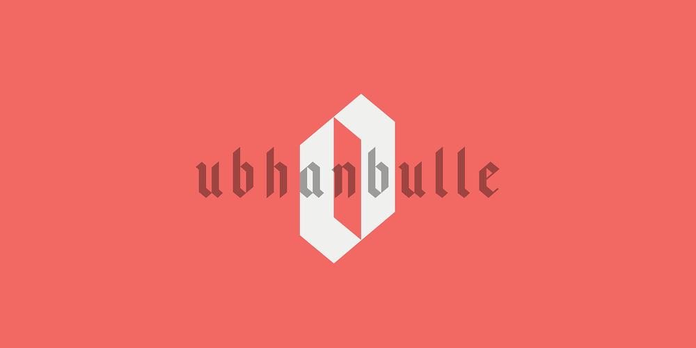 로고로 사용하기 좋은 무료 영문 폰트 : Bajern (A Free Typeface)
