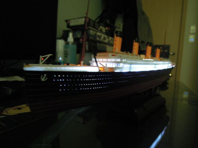 아카데미의 MCP 모델 타이타닉 1/700 프라모델 조립기50