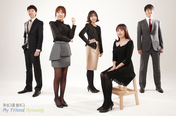 ▲New employees at Hyosung Support Division, Financial Division and Strategy Division had the greatest year as a member of Hyosung and they are now looking forward to the bright New Year
