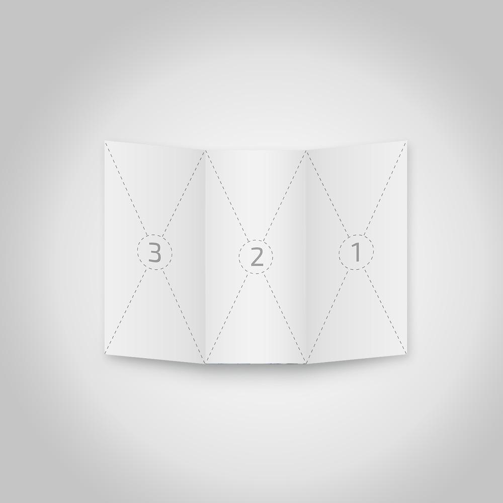 4 가지 A4 무료 3단 접지 브로셔 목업 PSD - 4 Free PSD A4 Trifold Brochure Mockups