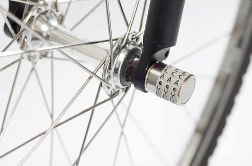 *자전거 잠금장치 sphyke C3N anti-theft combination lock for bike components