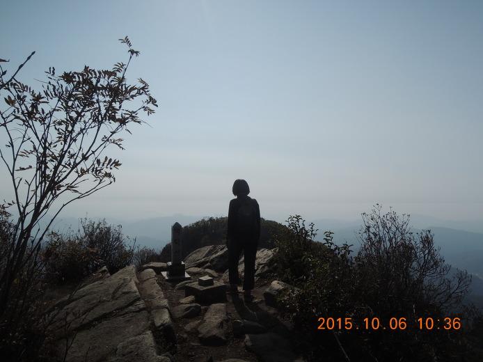 백덕산 등산코스 등산지도