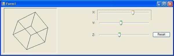 C Sharp - GDI+ Euler Rotation