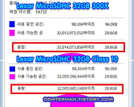 Lexar 300X microSDHC MLC 메모리카드