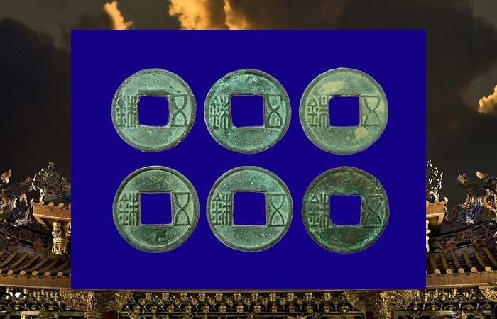 사진: 중국 고대 화폐인 오수전의 모습. 우리나라에서 명도전, 오수전 등이 발굴된다는 것은 중국과 활발한 무역을 했다는 것이다. 고대 중국에서는 돈을 '천' 또는 '등씨'라고 하는 때도 있었다. [한나라 문제 이후의 등통의 운명]