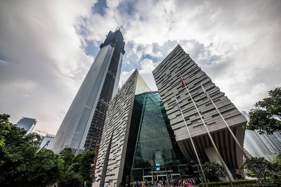 ctf 광저우 금융센터