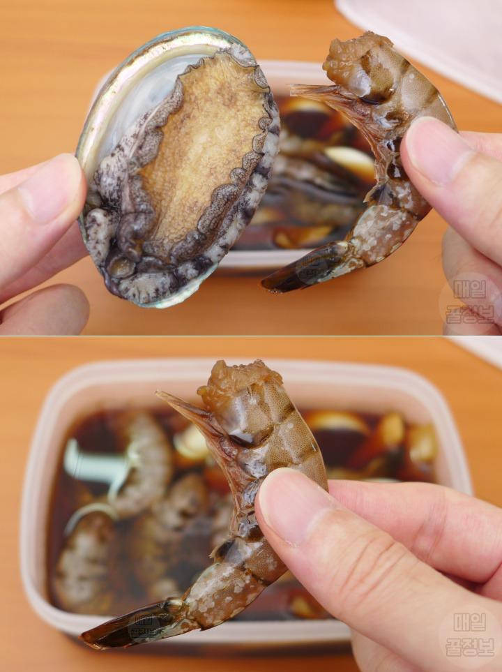 제철 전복과 먹으면 몸보신에 좋은 환상 궁합 음식 5가지 새우