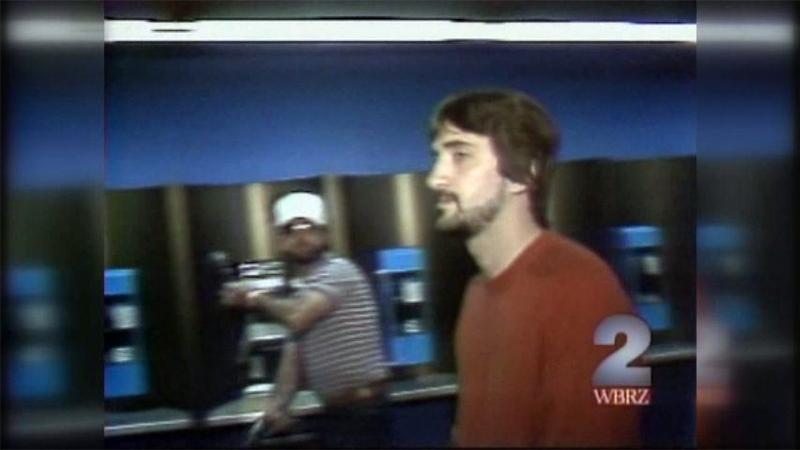 사진: 복수를 하기 직전 TV카메라에 찍힌 장면
