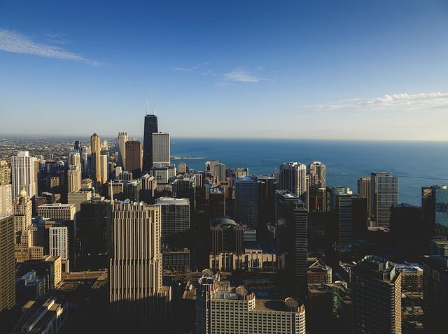 [미국 추천 여행지] 시카고 여행에서 꼭 가봐야할 관광지  존 행콕 타워