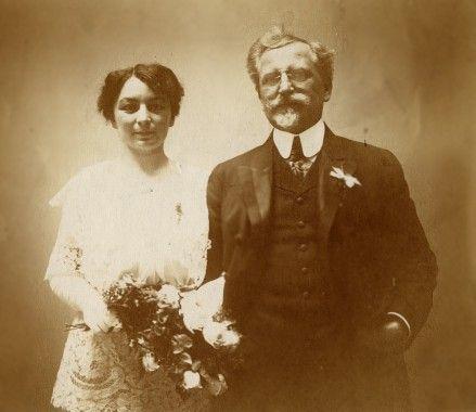 알폰스 무하와 그의 아내