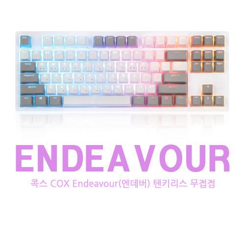 콕스 COX Endeavour(엔데버) 텐키리스 무접점 키보드 구매 및 사용기