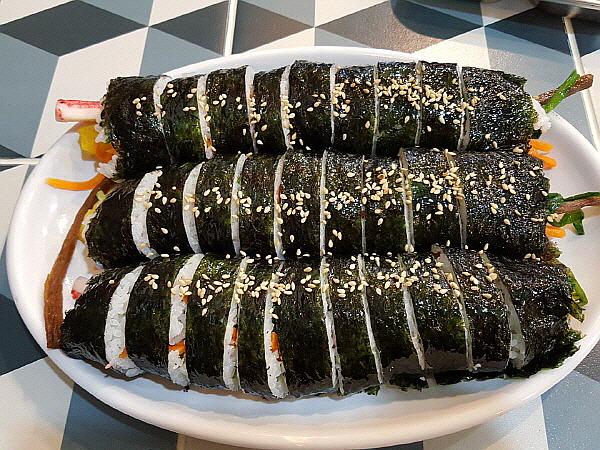 경기도 의정부 가능역 식당 - 소풍간 김밥