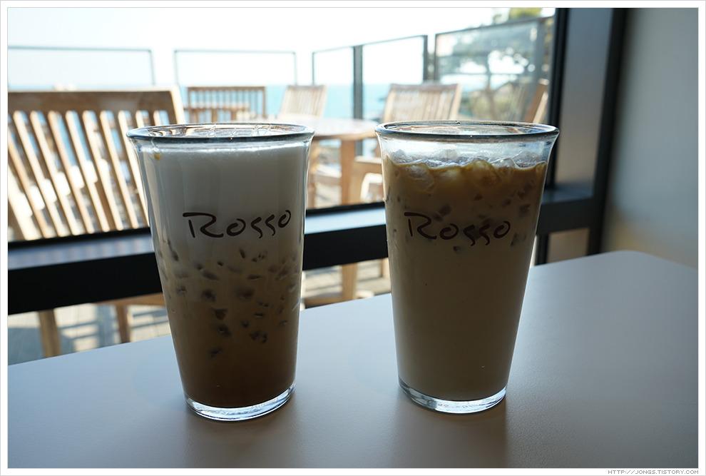 커피로쏘-카라멜마키아또, 카페라떼