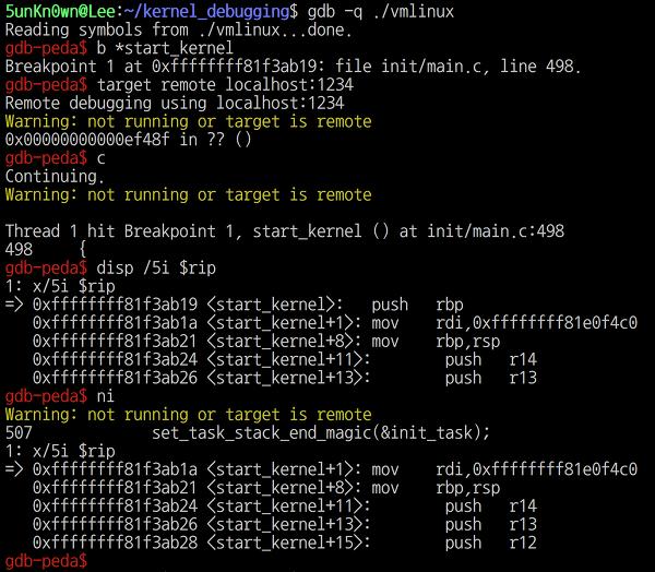 5unKn0wn's Blog - Linux kernel debugging with qemu