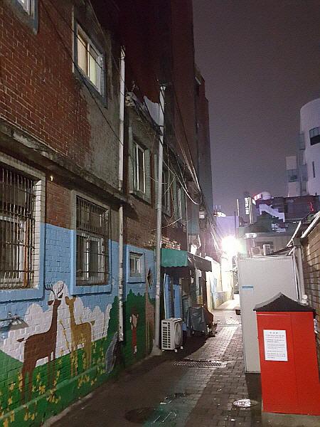 seoul trip hot spot - Yeongdeunpo station slum