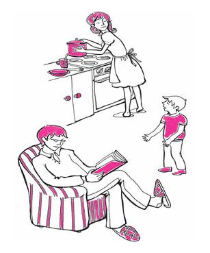 아이가 얘기할 때 아이에게 눈길 돌리고 자세도 제대로 갖추라.