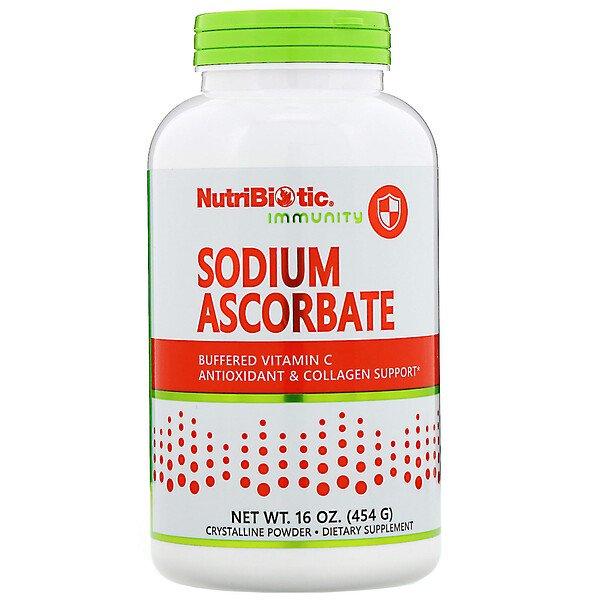 아이허브 신종코로나 대비 NutriBiotic Immunity 아스코르브산 나트륨 결정질 분말제품설명 및 후기분석