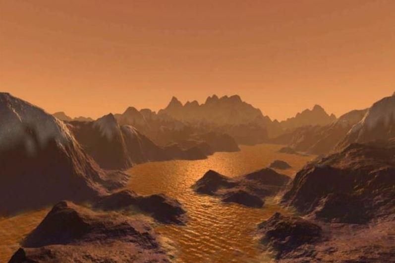 목성의 위성 타이탄에는 공기가 있다!