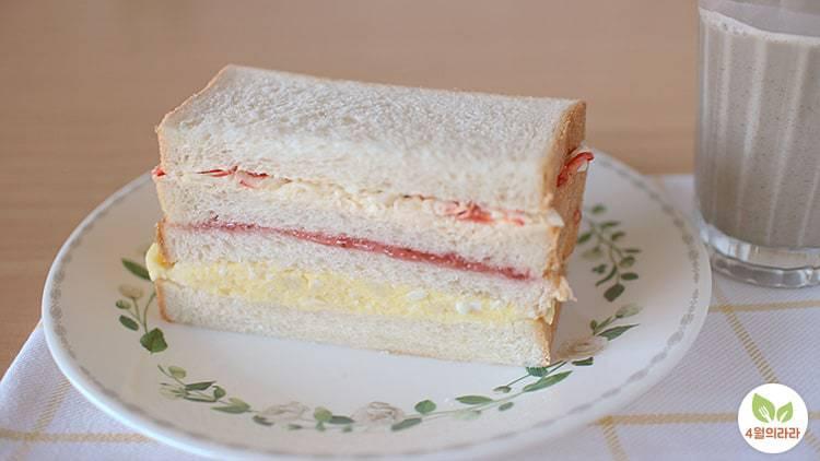 인기가요샌드위치_식빵요리