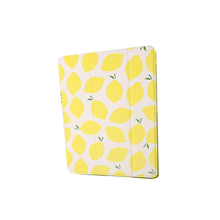 인스타 레몬 슬림 아이패드 케이스 옐로우레몬