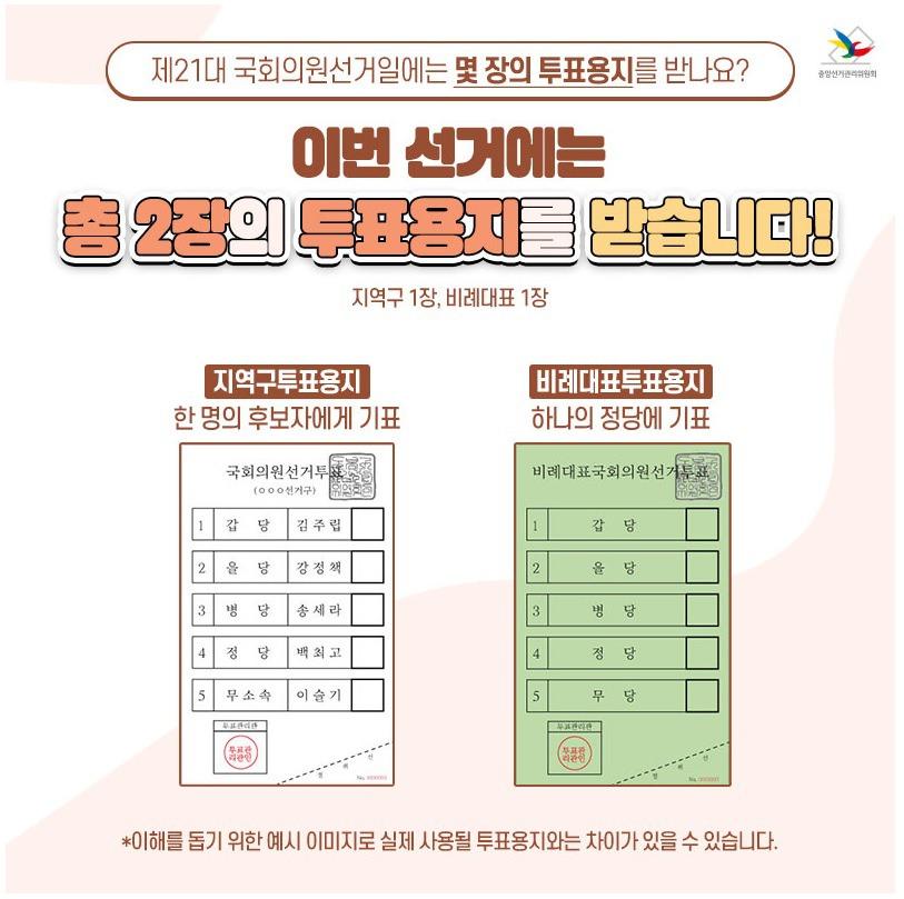 21대 국회의원 선거 일정 및 우리동네 사전투표소 위치 :: 아지로그
