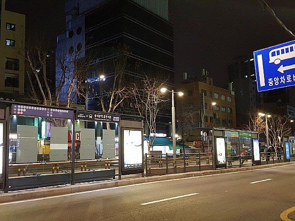 동대문역, 흥인지문 버스정류장