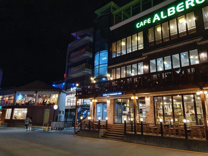 9월초 강릉 여행(6) : 안목항 커피거리, 밤마실