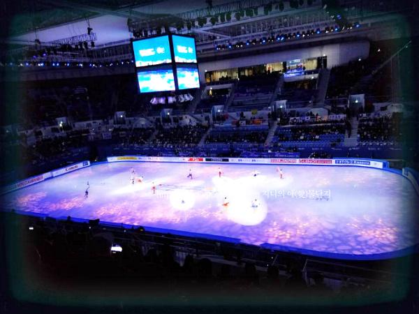 대한민국 모든 선수들을 응원합니다~! [평창 동계올림픽]  강릉 아이스 아레나 사대륙 피겨 스케이팅 선수권 대회 모습