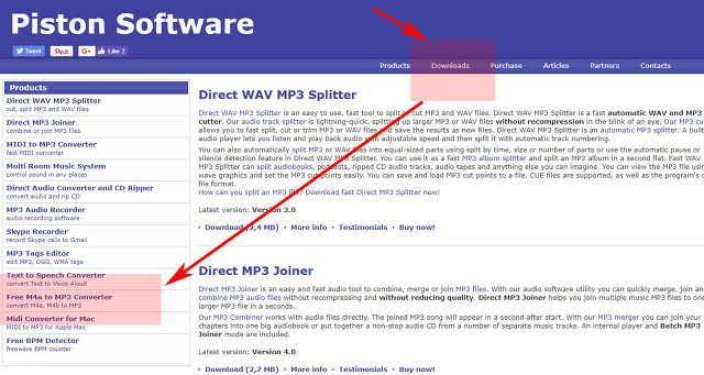 m4a mp3 변환 프로그램 다운 및 사이트 이용방법