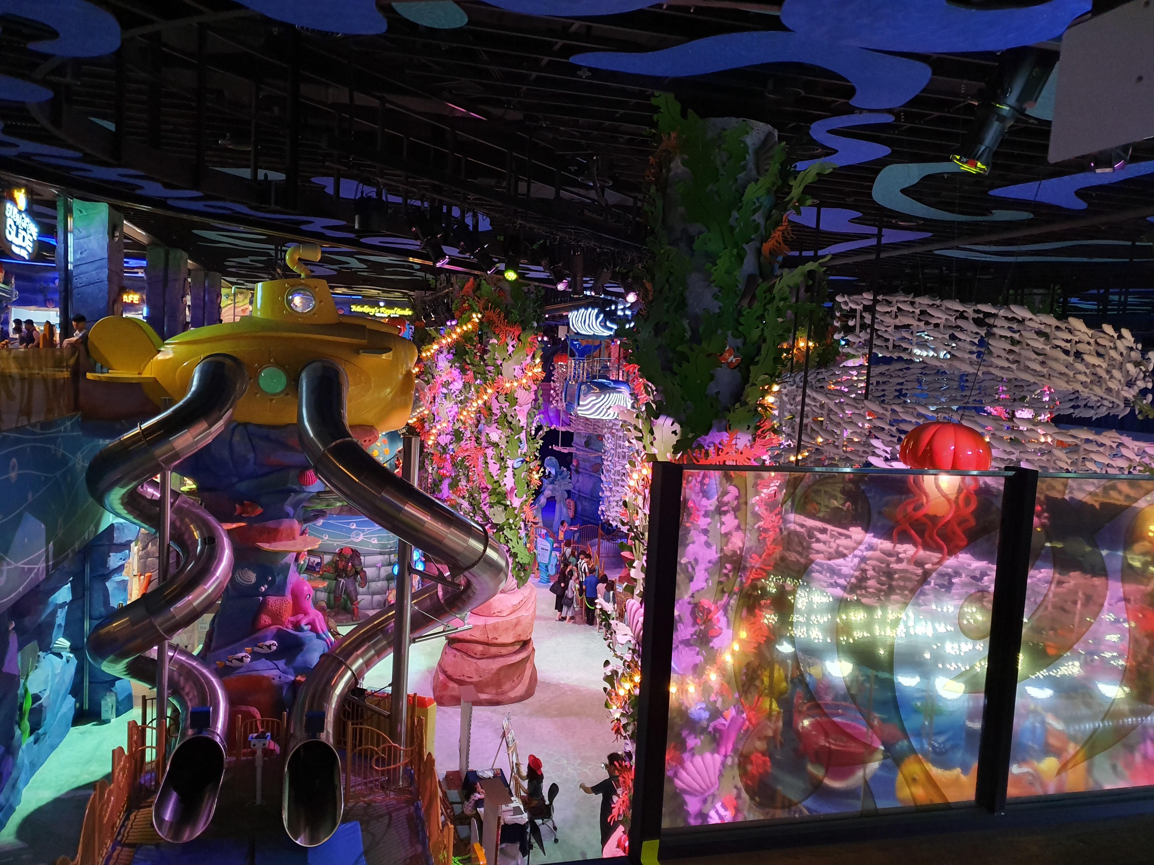 은평구 롯데몰 키즈까페-언더씨킹덤(구. 키즈파크) : 삼성카드 2만원(어른1+어린이1) 할인 방문