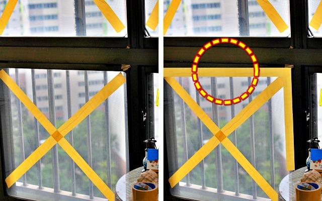 태풍 창문 테이프, 태풍 대비 베란다 창문 보호방법, 팁줌 매일꿀정보