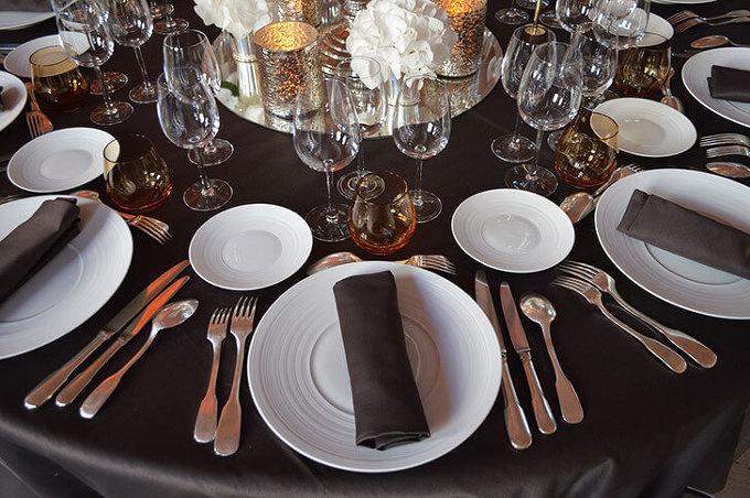 테이블 매너, 식사예절, 나이프와 포크 사용법