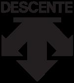 데상트신발 로고